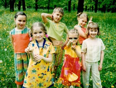 Летняя коллекция детской одежды